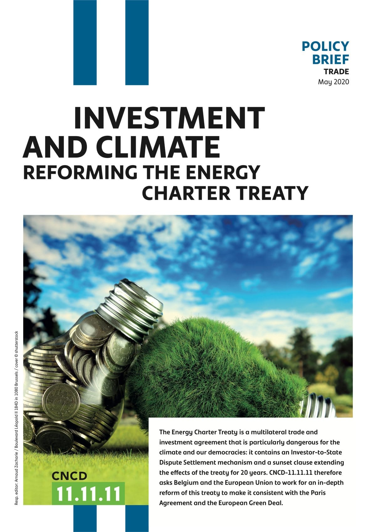 Couverture Reforming the Energy Charter Treaty