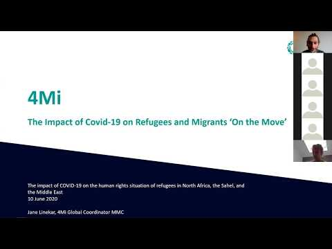 Webinar. COVID-19 : Protecting refugees
